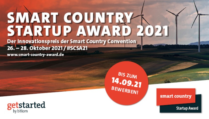 Smart Country Startup Award: Application period has started!
